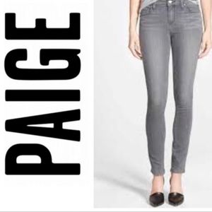 Paige grey Blue Heights jeans